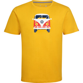 Elkline Methusalem T-shirt Herrer, goldenyellow